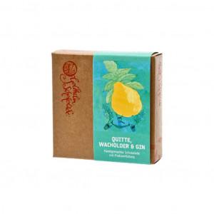 Goldhelm Schokoladen Manufaktur Quitte-Wacholder-Gin