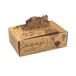 Goldhelm Schokoladen Manufaktur Brückentrüffel 9er Box
