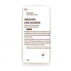 Idilio Origins 3ero Seleccion Cata Ocumare 72%  Vorderseite