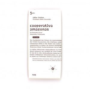 Idilio Origins 5nto Cooperativa Amazonas 72% Vorderseite