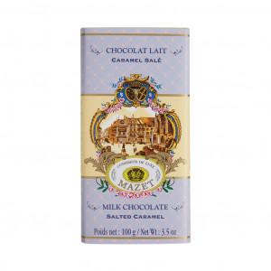 Mazet Confiseur Chocolat Lait Caramel Salé 42% Vorderseite