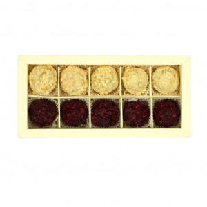 Nelleulla Aprikose und Kirsche Pralinenschachtel 158g