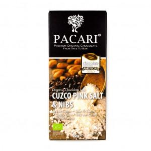 Pacari Cuzco Pink Salt & Nibs 60% Vorderseite