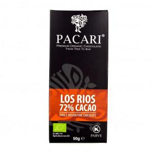 Pacari Ecuador Los Rios 72% Vorderseite