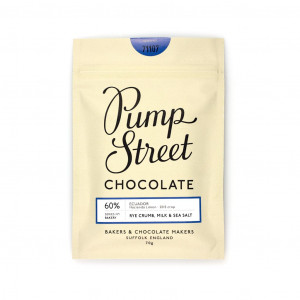 Pump Street Bakery Ecuador Hacienda Lemon Rye Crumb, Milk & Sea Salt Vorderseite