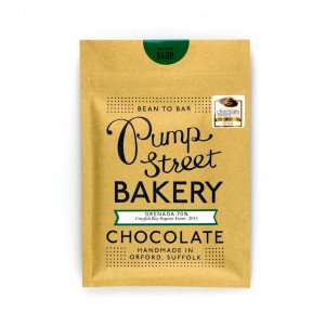 Pump Street Bakery Grenada Crayfish Bay Organic Estate 70% Vorderseite