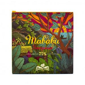 Rózsavölgyi Csokoládé Mababu Tanzania 75% Vorderseite
