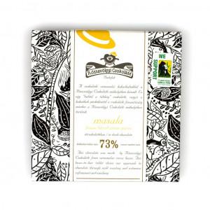 Rózsavölgyi Csokoládé Masala 73% Vorderseite