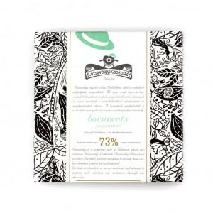 Rózsavölgyi Csokoládé Peppermint 77% Vorderseite