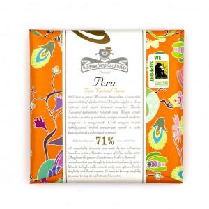 Rózsavölgyi Csokoládé Peru Pure Nacional Cocoa 71% Vorderseite