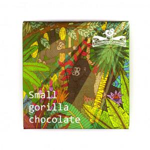 Rózsavölgyi Csokoládé Small Gorilla Chocolate 72% Vorderseite