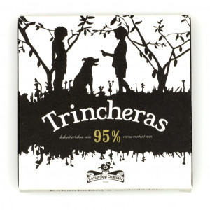 Rózsavölgyi Csokoládé Trincheras 95% Vorderseite