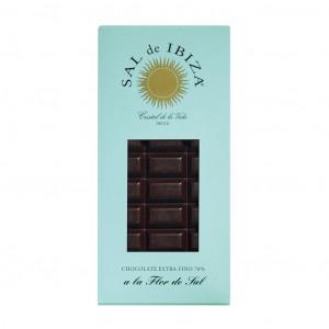 Sal de Ibiza Zartbitterschkolade mit Fleur de Sel 70%
