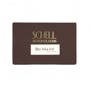 Schell Schokoladen Bio Inka Inti 70% Vorderseite