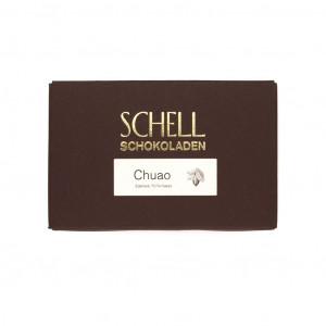 Schell Schokoladen Chuao 70% Vorderseite