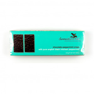 Summerdown Chocolate Peppermint Crisps 55% Vorderseite
