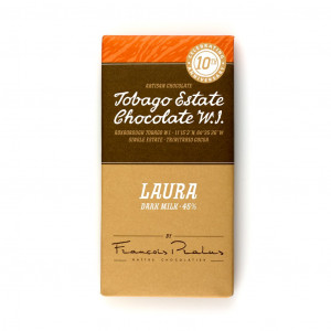 Tobago Estate Chocolate Laura Vorderseite