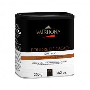 Valrhona Poudre de Cacao 100% Vorderseite