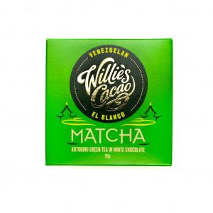 Willie's Cacao El Blanco Matcha 38% Vorderseite
