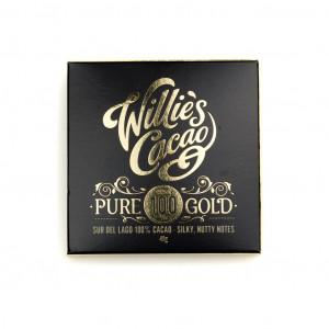 Willies Cacao Sur del Lago 100% Vorderseite