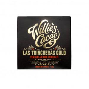 Willie's Cacao Venezuela Las Trincheras Gold 72% Vorderseite