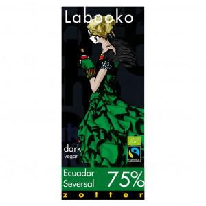 Zotter Labooko Ecuador Seversal 75% Vorderseite
