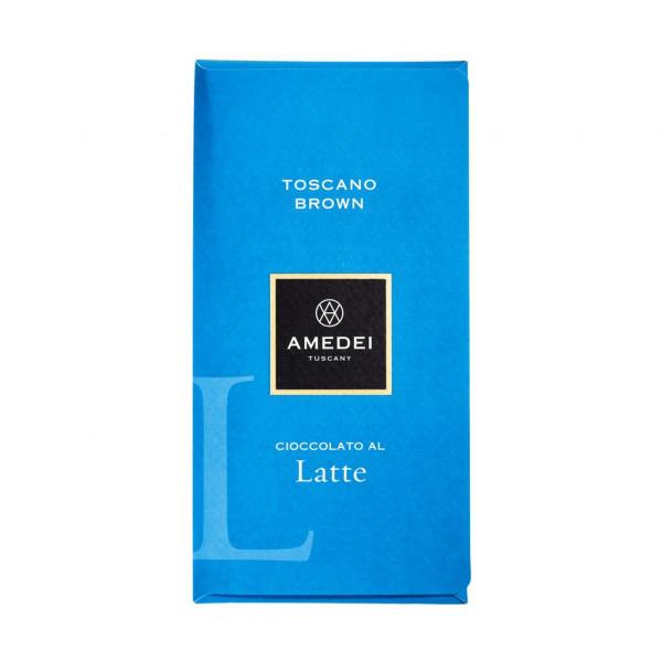 Amedei Toscano Brown Latte Vorderseite