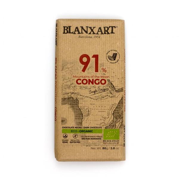 Blanxart Congo 91% Vorderseite