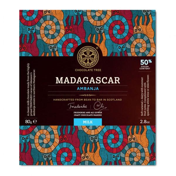 Chocolate Tree Madagascar Ambanja 50%