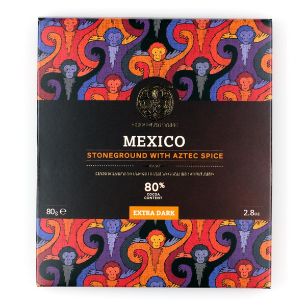 Chocolate Tree Mexico Stoneground with Aztec spice Vorderseite
