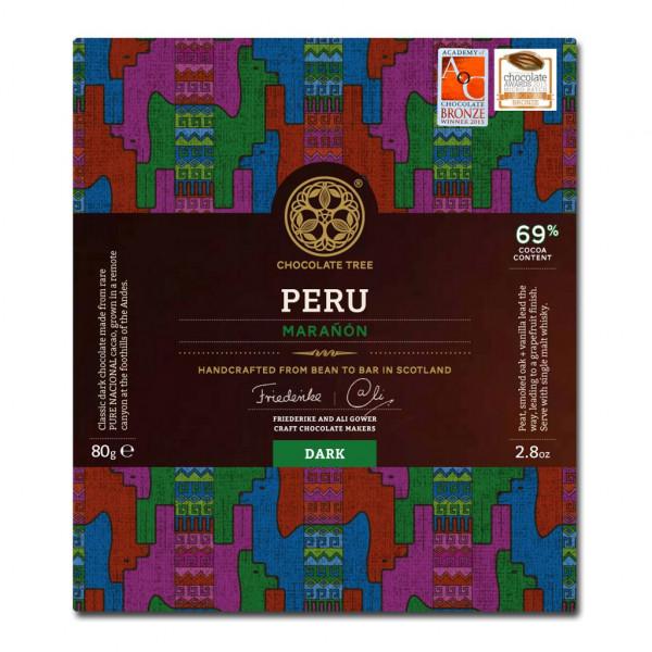 Chocolate Tree Peru Vorderseite