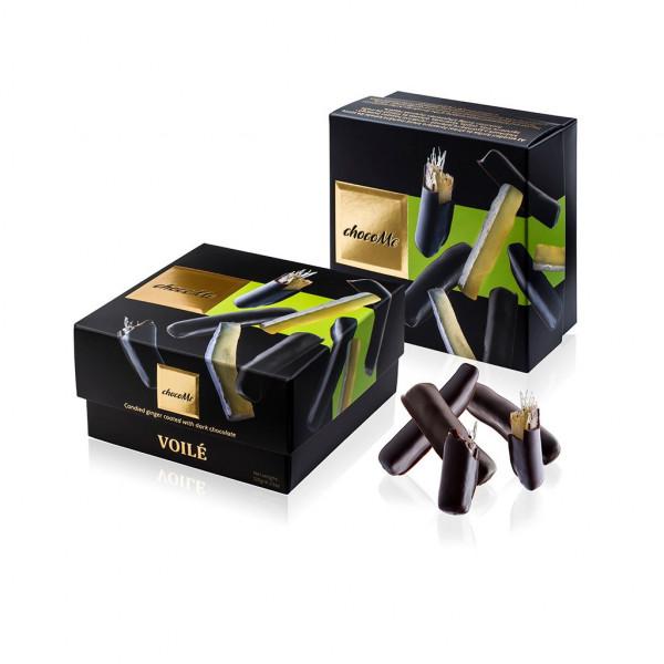 ChocoMe Voilé Ingwer in dunkle Schokolade