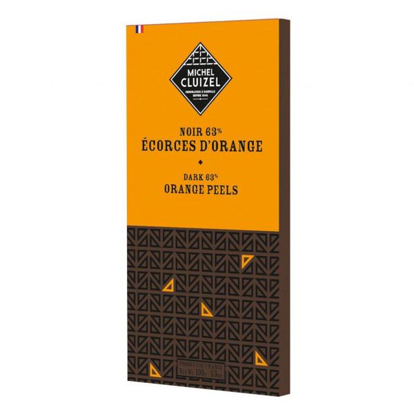 Michel Cluizel Noir Ècorces d'Orange 63% Vorderseite