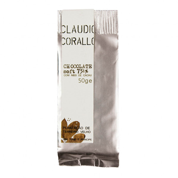 Claudio Corallo Chocolate soft 73½% Vorderseite