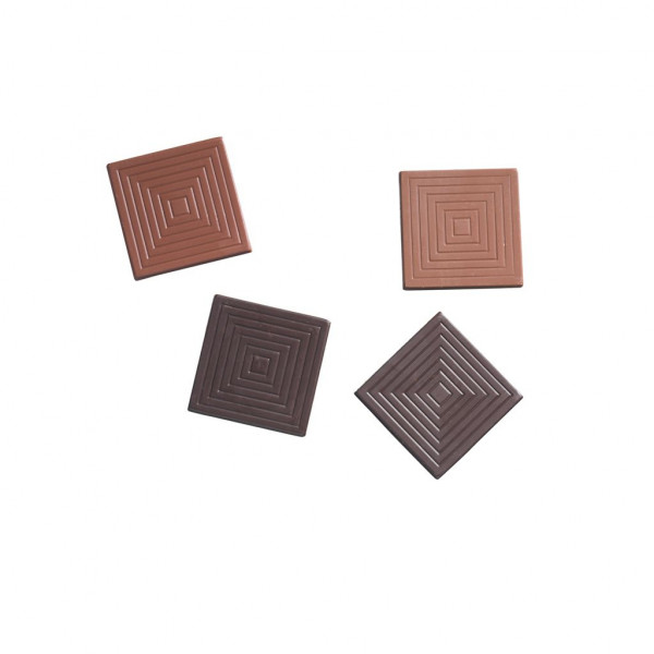 Dolfin Love 9 assorted chocolate squares Innere 3