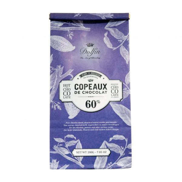Dolfin Copeaux de Chocolat 60% Vorderseite