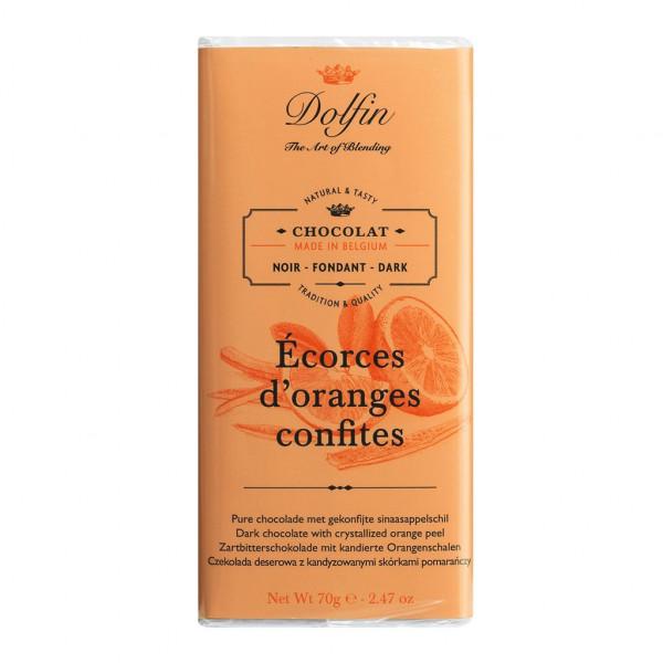 Dolfin Écorces d'oranges confites 60% Vorderseite