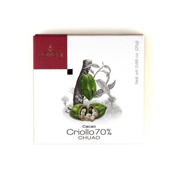 omori Chuao Cacao Criollo 70% Vorderseite