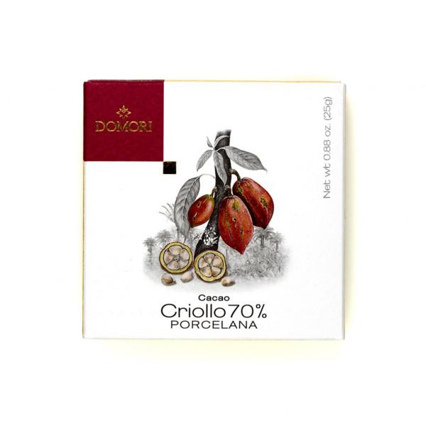 Domori Porcelana Cacao Criollo  Vorderseite