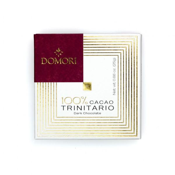 Domori Trinitario 100% Vorderseite