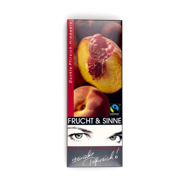 Frucht & Sinne Dunkle Pfirsich-Himbeere 52% Vorderseite