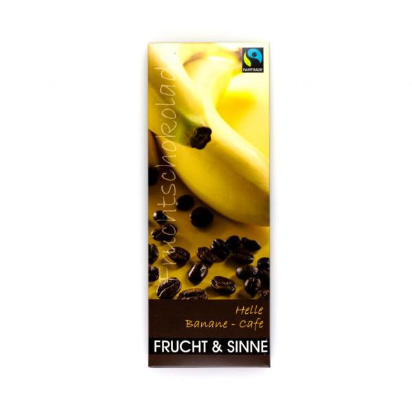 Frucht & Sinne Helle Banane-Cafe Vorderseite