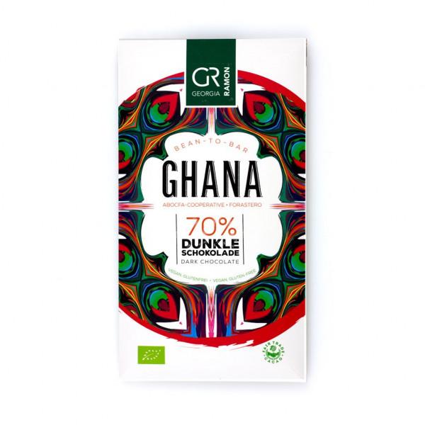 Georgia Ramon Ghana 70% Vorderseite