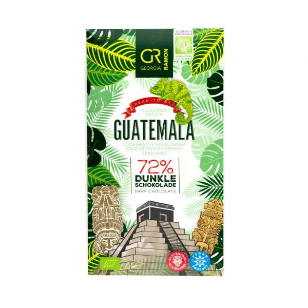 Georgia Ramon Guatemala Mayas Farmers Trinitario 72% Vorderseite