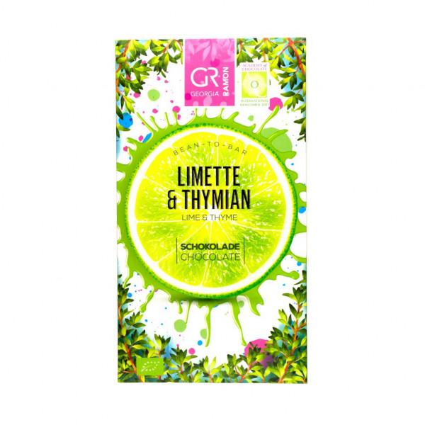 Georgia Ramon Limette & Thymian 37% Vorderseite