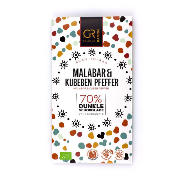 Georgia Ramon Malabar & Kubeben Pfeffer 70% Vorderseite