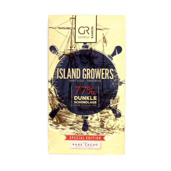 Georgia Ramon Island Growers Saint Lucia 77% Vorderseite