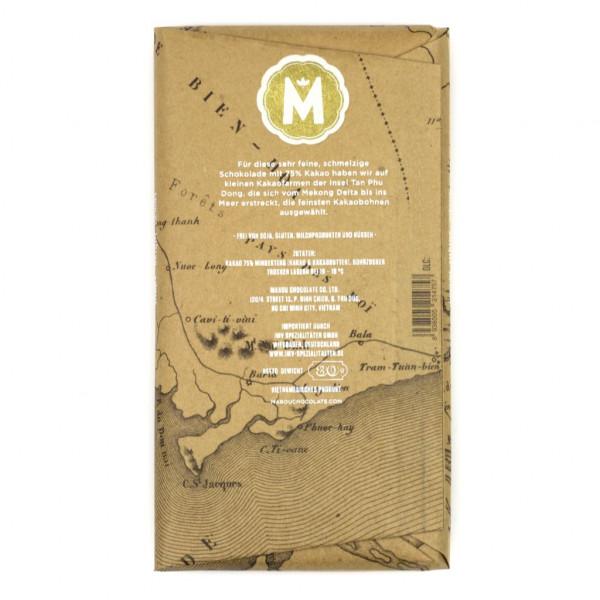 Marou Treasure Island 75% Rückseite