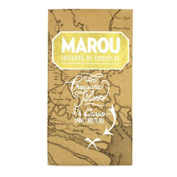Marou Treasure Island 75% Vorderseite