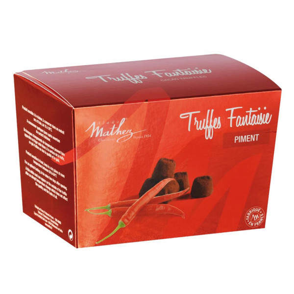 Mathez Truffes Fantaisie Chili 250g
